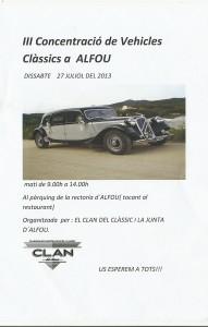 Clan Clasic Alfou 2013