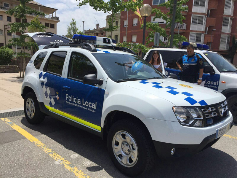 Cotxe policia SAV