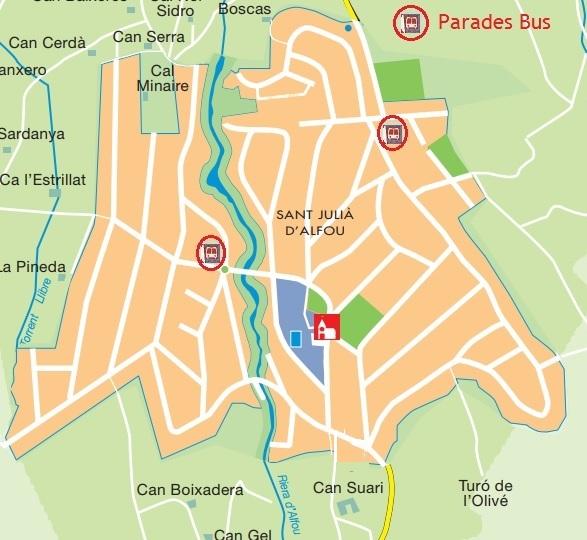 Parades bus Alfou