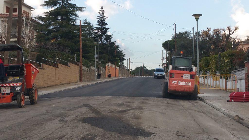 Obres asfalt Alfou 2018