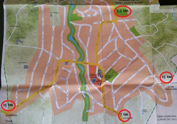 mapa Alfou tm camions